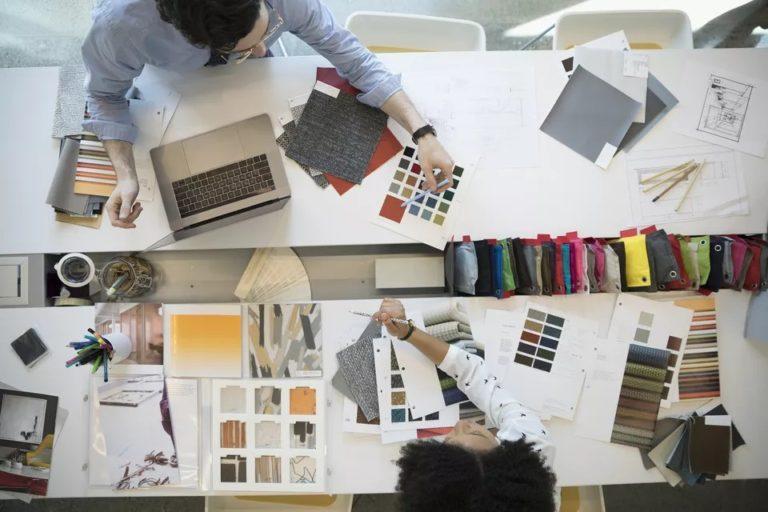 How do interior designers work